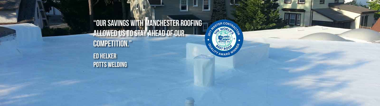 Manchester Roofing Systems Duro Last The World S Best