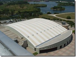 Roof Coatings - Disney Contemporary Hotel Convention Center Roof - Hydro-Stop