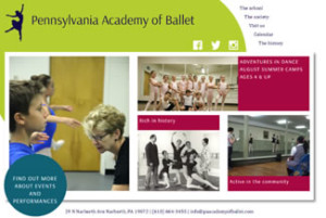 Pennsylvania Academy of Ballet – Narberth, PA